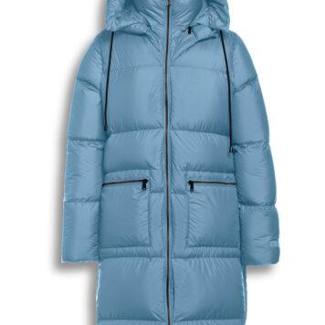 Parker coat smoke blu