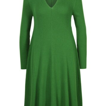 Solid dress grün