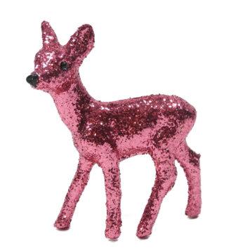 Bambi glitter altrosa klein