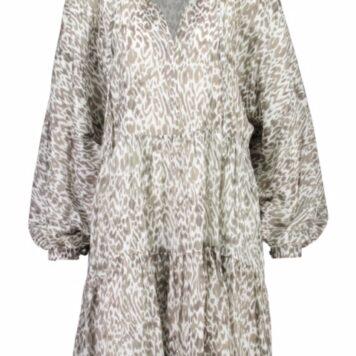 Better rich tunic dress sage animal