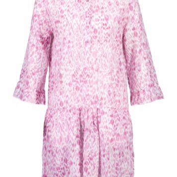 Better rich central park dress pink animal