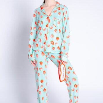 P.J. Salvage Pyjama Set Strawberry