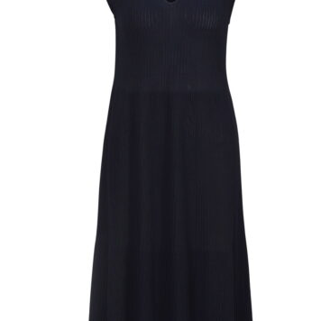 Ivko Solid Dress Navy